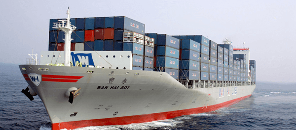 sea containers to Pakistan